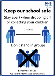 NHS Lothian advice poster